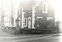 Bruntwood Hall Lodge, Schools Hill entra