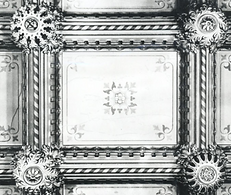 Abney Hall, a section of the ceiling (19