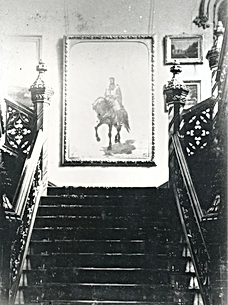 Abney Hall, The grand staircase, paintin