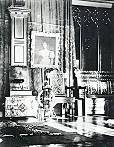 Abney Hall, a photo taken for inventory