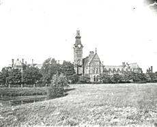 Barnes Hospital, from a glass negative,