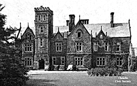 Bruntwood Hall, 1940s.png