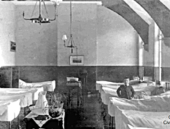 Patients in the Curtis Ward at Barnes Co