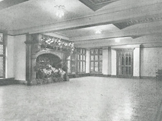 Abney Hall, The terrace room (1964).png