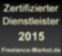 'Bekir Demirel ist ein durch www.Freelance-Market.de zertifizierter Dienstleister