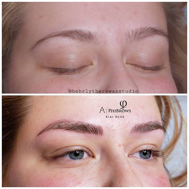 Microblading is the perfect way to even