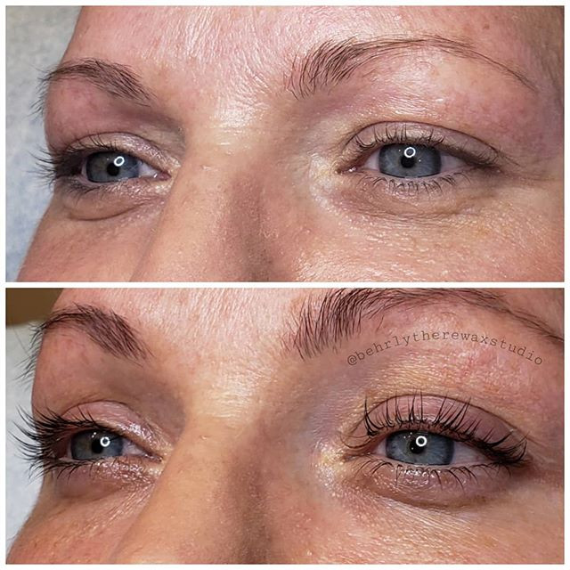 Love the results from lash lifts and tin