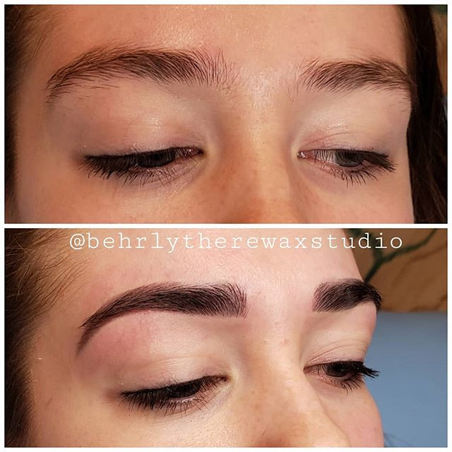 Love these big bold brows! ___________ #