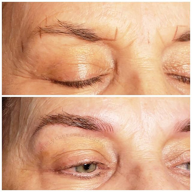 I've been practicing microblading! And I