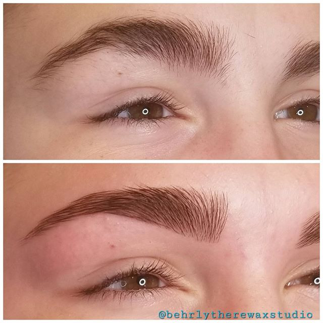 When you want your brows as full as poss