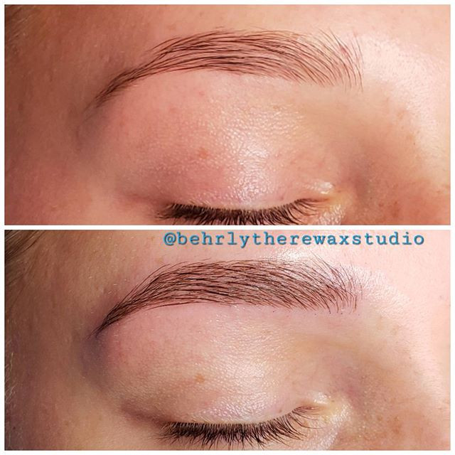 My second time microblading! We were giv