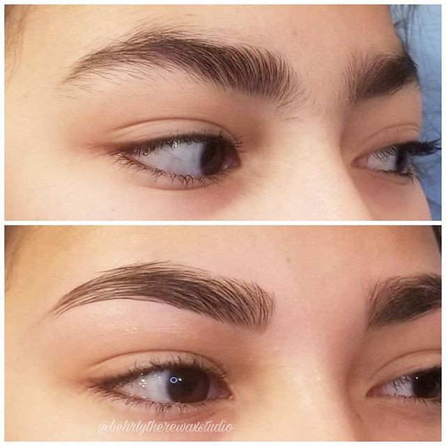 I am LIVING for these brows!!! Her first