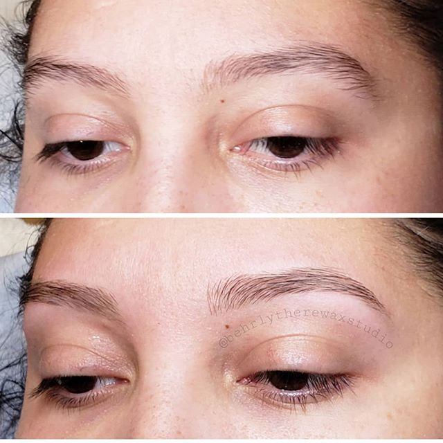 Just a fresh lil brow clean up! #behrlyt