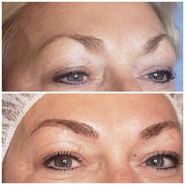 First microblading session done! I took