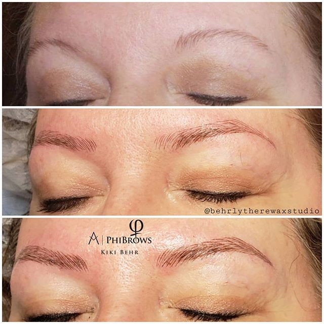 Love how these microbladed brows turned
