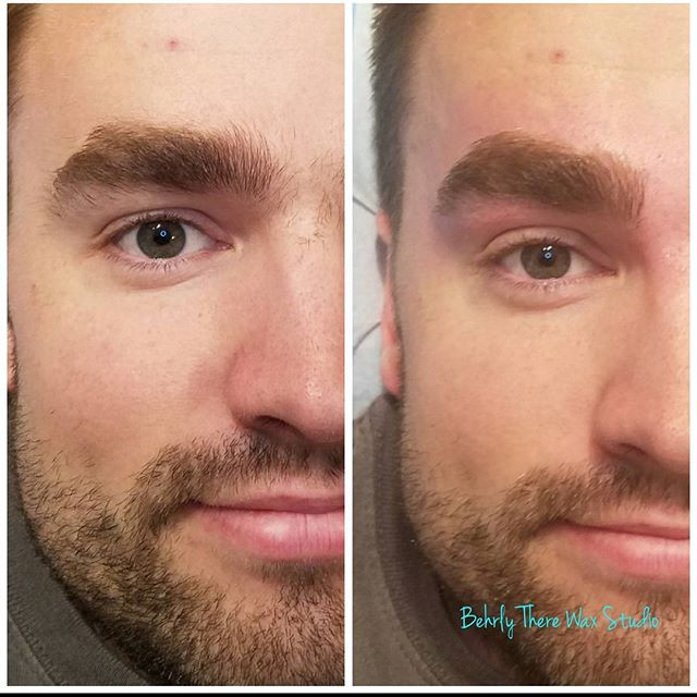 Men you can get great brows that look gr