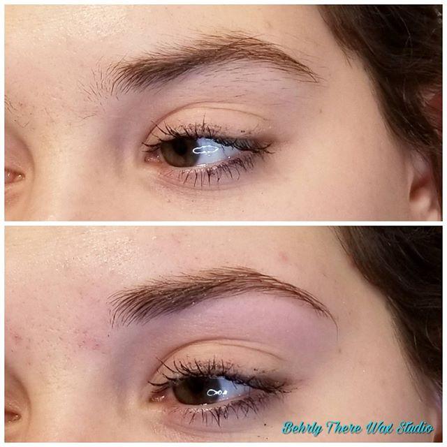 Eyebrows on fleek! #behrlytherewaxstudio