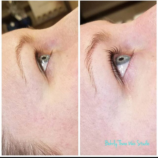 Lash lift and tint #behrlytherewaxstudio