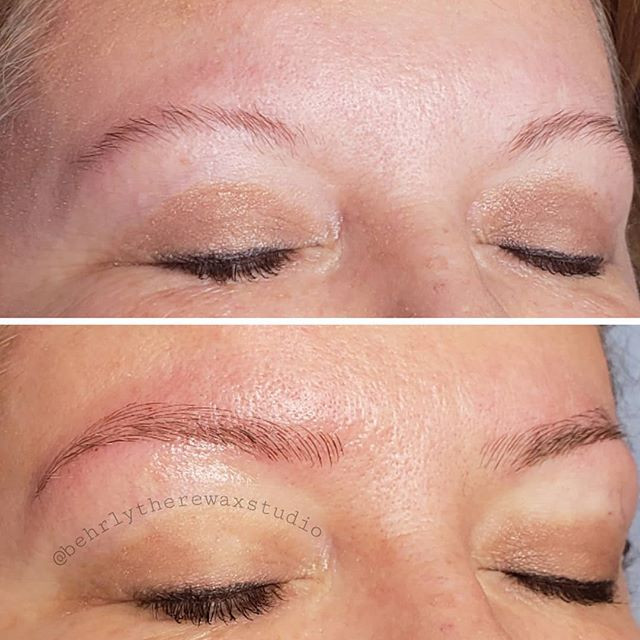 More microblading practice! I can't wait