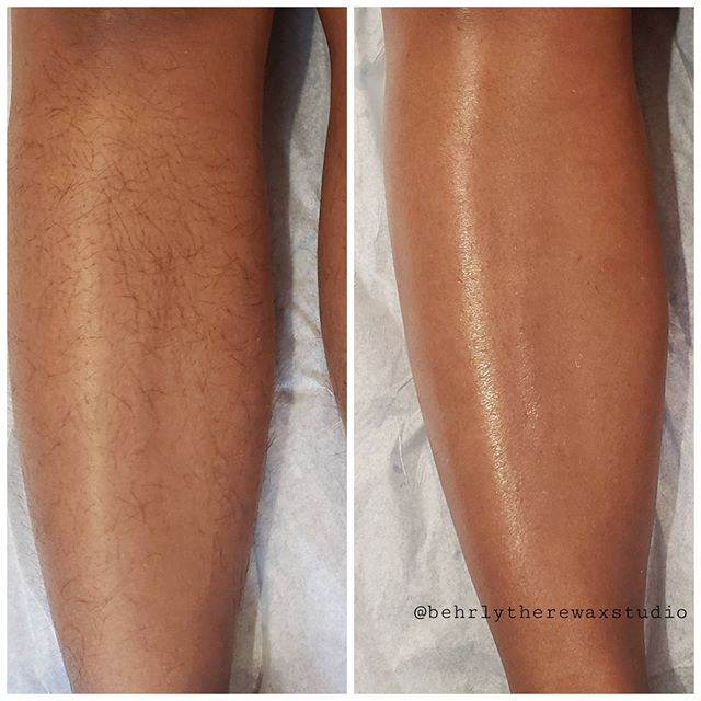 Have you tried a leg wax yet_ Nothing ke