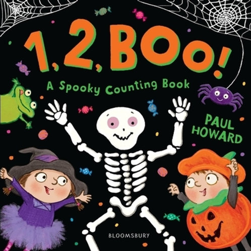 1, 2, BOO! by Paul Howard