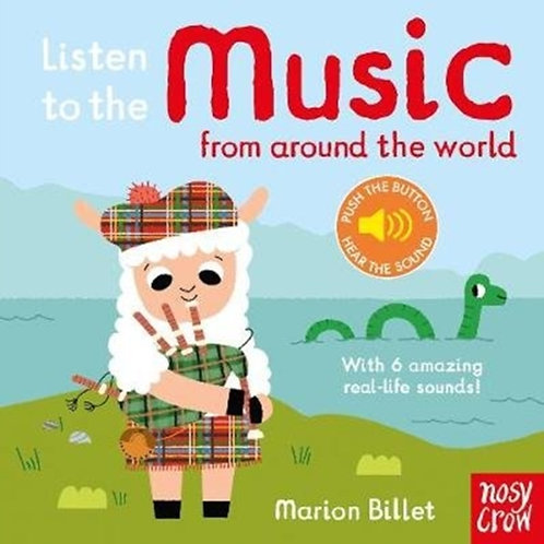 Listen to the Music from Around the World by Marion Billet