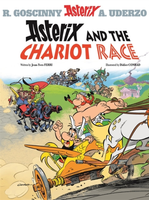 Asterix and the Chariot Race: Album 37       by Jean-Yves Ferri