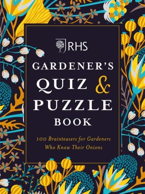 RHS Gardener's Quiz & Puzzle Book by Simon Akeroyd