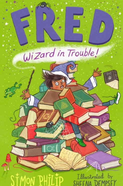 Fred: Wizard in Trouble by Simon Philip