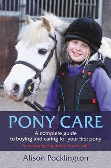 Pony Care       by Alison Pocklington