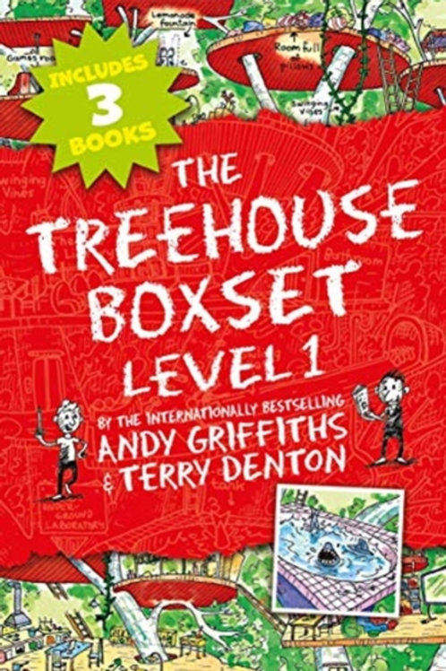 The Treehouse Boxset - Level 1       by Andy Griffiths