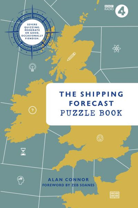 Shipping Forecast Puzzle Book by Alan Connor