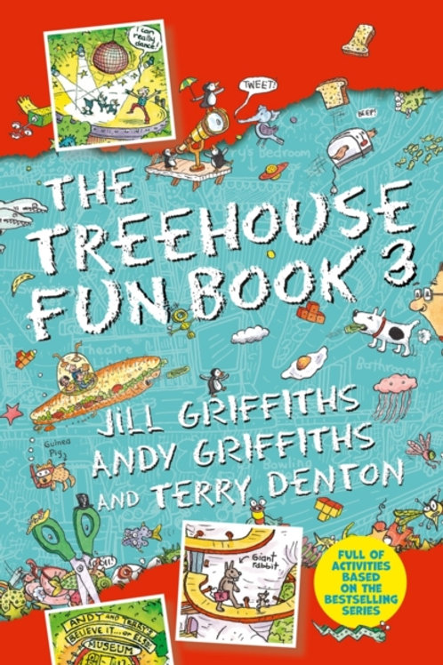Treehouse Fun Book 3       by Andy Griffiths