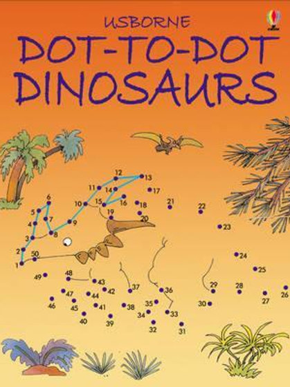 Dot to Dot Dinosaurs       by