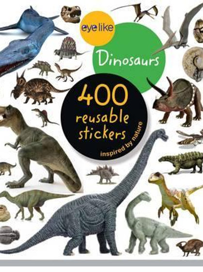 Eyelike Stickers: Dinosaurs       by Eyelike