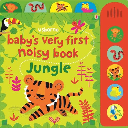 Baby's Very First Noisy Book Jungle by Fiona Watt