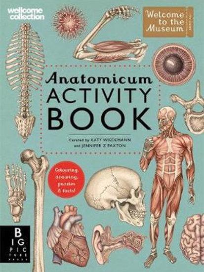 Anatomicum Activity Book       by Katy Wiedemann