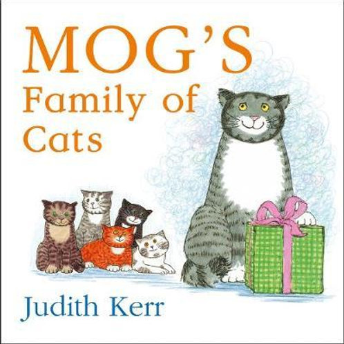 Mog's Family of Cats board book       by Judith Kerr