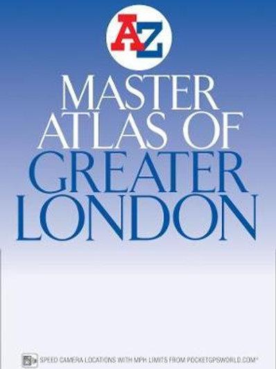 London Master Atlas       by Geographers' A-Z Map Company