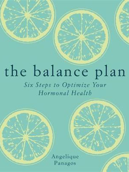 Balance Plan       by Angelique Panagos