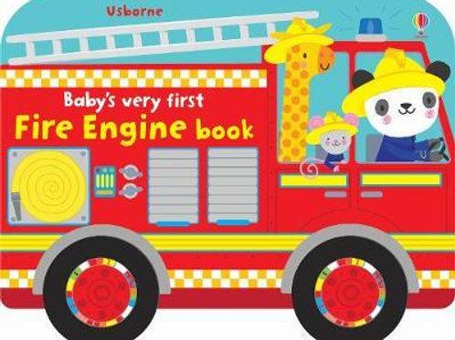 Baby's Very First Fire Engine Book       by Fiona Watt