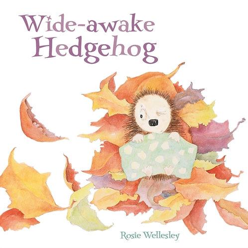Wide-awake Hedgehog       by Rosie Wellesley