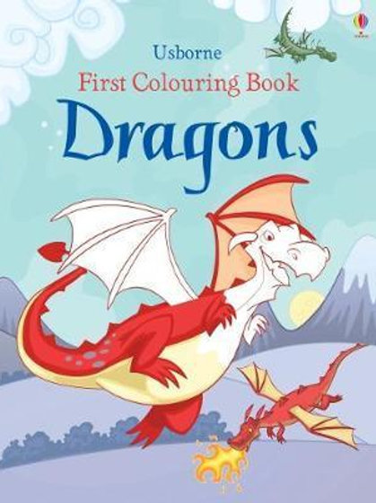 First Colouring Book Dragons       by Jessica Greenwell