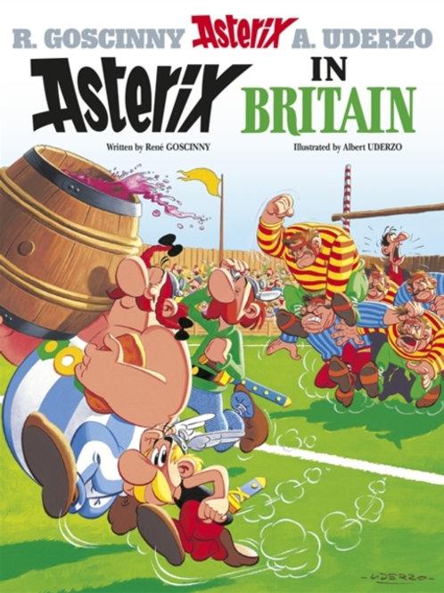 Asterix in Britain: Album 08       by Rene Goscinny