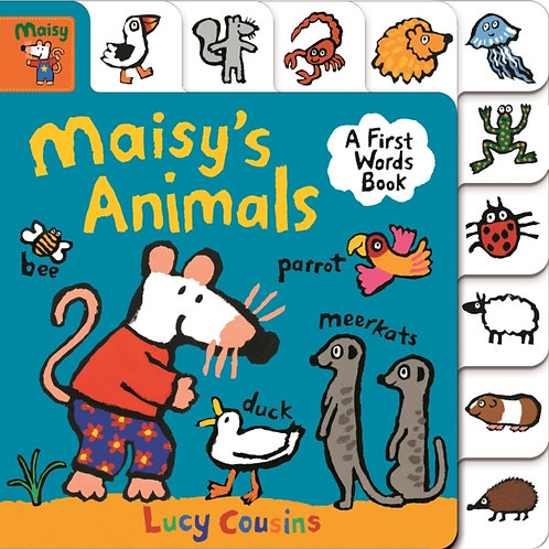Maisy's Animals: A First Words Book by Lucy Cousins