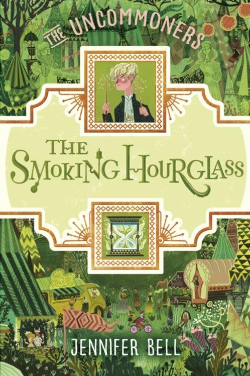 Smoking Hourglass by Jennifer Bell