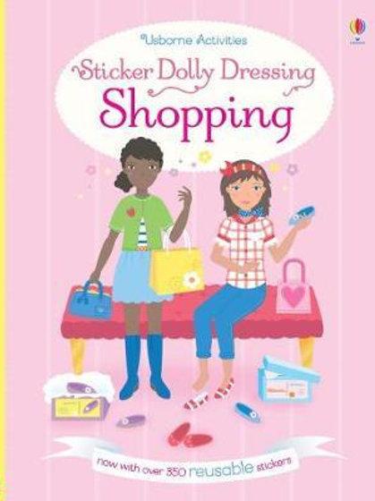 Sticker Dolly Dressing Shopping       by Fiona Watt