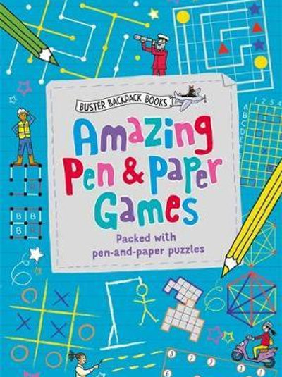 Amazing Pen & Paper Games       by Dr Gareth Moore