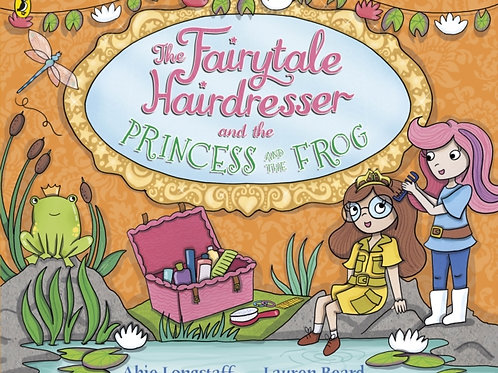 Fairytale Hairdresser and the Princess and the Frog by Abie Longstaff