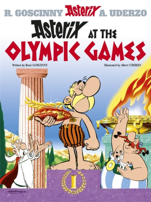 Asterix at the Olympic Games: Album 12       by Rene Goscinny